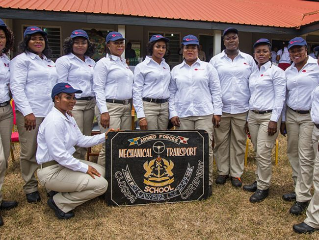 Ladybird Logistics makes history with the graduation of our first batch of female truck drivers