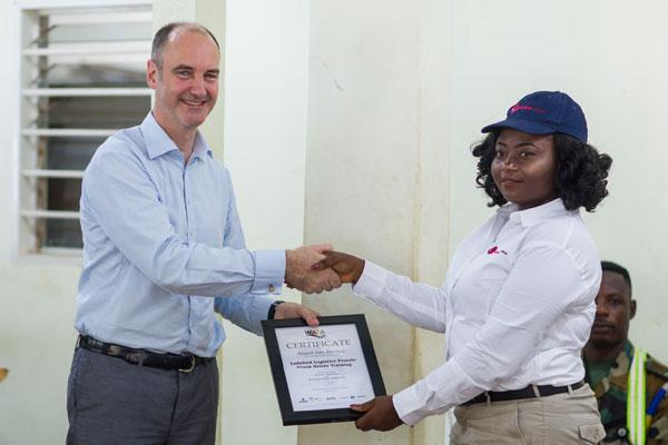 Ladybird Driver Certificate Presentation