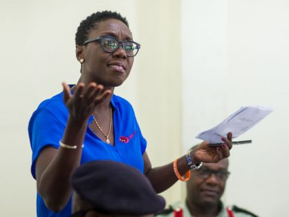 Payin Marfo of Ghana jumped at the chance to help form an all-female team of oil haulers