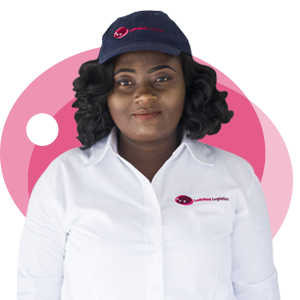 Abigail Adu, Ladybird Logistics Driver