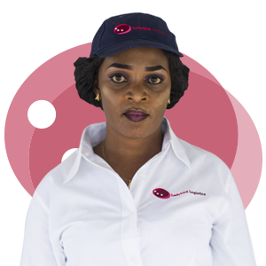Esther Ofori, Ladybird Logistics Driver