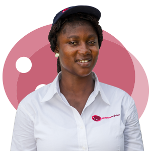 Florence Mensah, Ladybird Logistics Driver