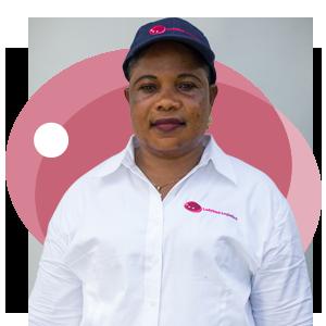 Josephine Agyedah, Ladybird Logistics Driver
