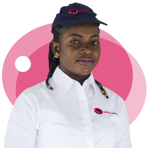 Mercy Ayepah, Ladybird Logistics Driver