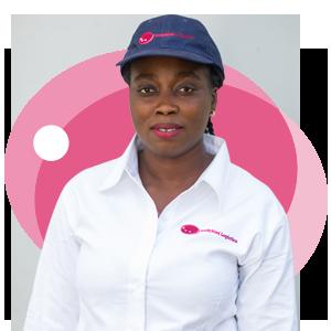 Sophia Amamoo, Ladybird Logistics Driver