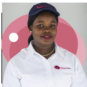 Vivian Otoo, Ladybird Logistics Driver