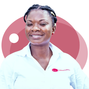 Grace Worname, Ladybird Logistics Driver