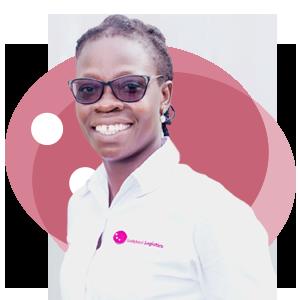 Mabel Abena Quarshiegah, Ladybird Logistics Driver