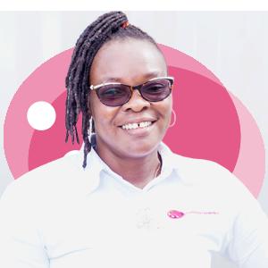 Mabel Sefa Tefe, Ladybird Logistics Driver