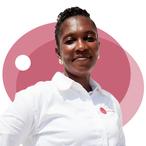 Marie Luise Adjei, Ladybird Logistics Driver