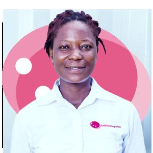 Victoria Ama Safo, Ladybird Logistics Driver