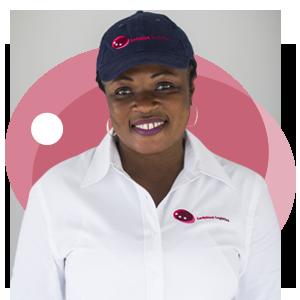 Abigail Asumadu-Amoah, Ladybird Logistics Driver