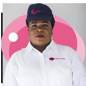 Comfort Aidoo, Ladybird Logistics Driver
