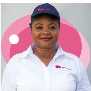 Edith Asarewaa, Ladybird Logistics Driver
