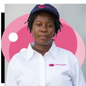 Ellen Agyyeiwaa, Ladybird Logistics Driver