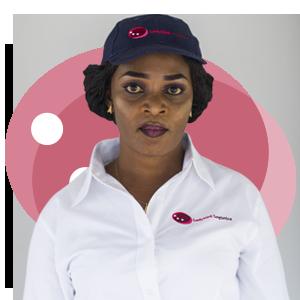 Esther Ofori, Ladybird Logistics Driver