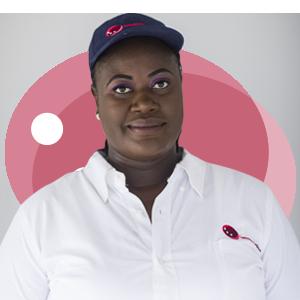 Gifty Aba Yorke, Ladybird Logistics Driver