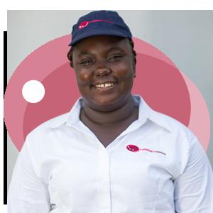 Janet Adu, Ladybird Logistics Driver