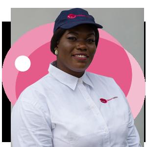 Jessica Dei-Tutu, Ladybird Logistics Driver