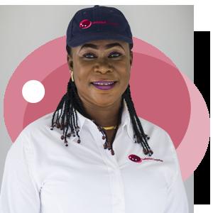 Joyce Kwakyewaa, Ladybird Logistics Driver