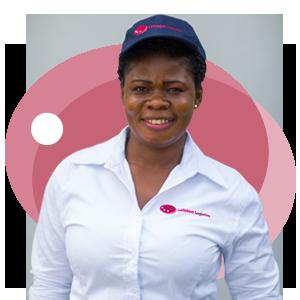 Rita Twenewaa, Ladybird Logistics Driver