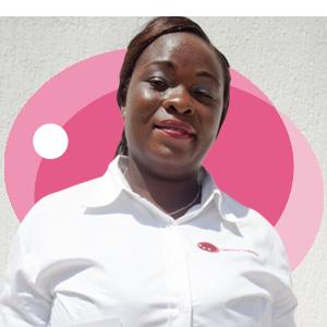 Belinda Barrend-Annan, Ladybird Logistics Driver
