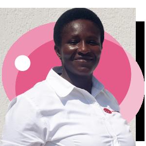 Ernestina Dede Fynn, Ladybird Logistics Driver